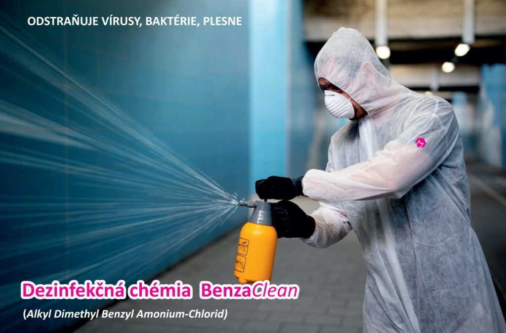 Metalclean - Profesionálna dezinfekcia ozónom proti Covid-19